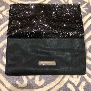 BCBGeneration Black Clutch with Sequence